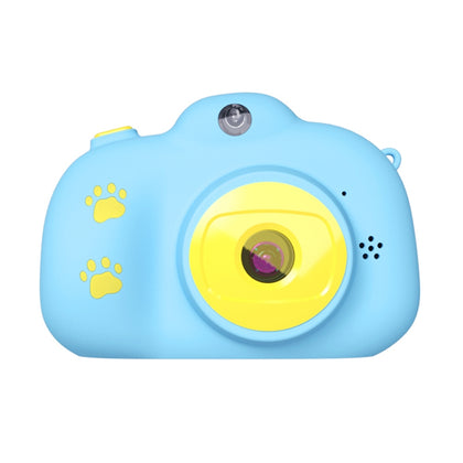 RK-K9 2.0 / 2.4 inch 2000W Pixel Dual-lens Child Camera, Support Game & Video & 64GB TF Card (Blue)