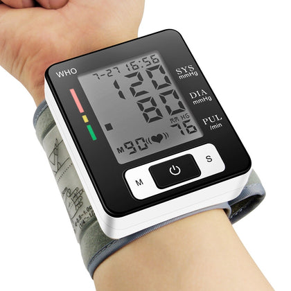 CK-W133 Full Automatic Wrist Cuff Blood Pressure Monitor