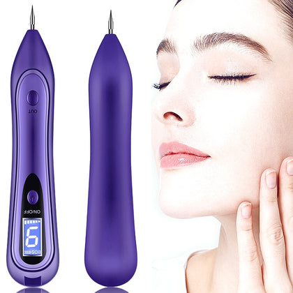 SONGSUN X2 Professional Portable Skin Spot Tattoo Freckle Removal Machine Mole Dot Removing Laser Plasma Beauty Care Pen with LCD