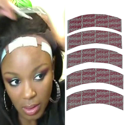 5 PCS Lace Wig Head Cover Special Film Double-sided Tape Wig