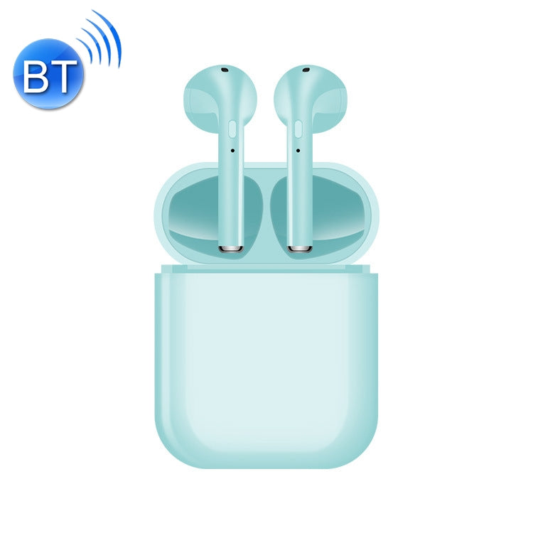 i16 Wireless Bluetooth 5.0 Headset with Automatic Boot-up & Binaural Call Function(Green)
