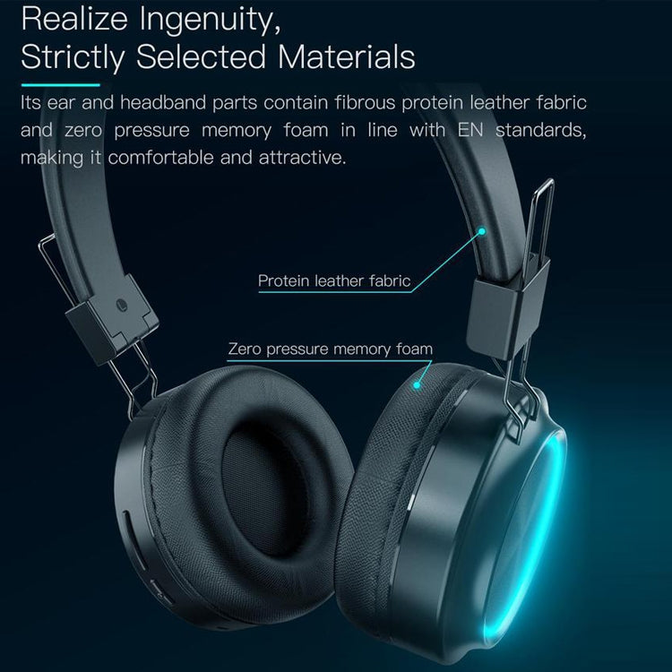 JAKCOM BH3 Bluetooth 4.1 Intelligent Headphone Colorful Light Bluetooth Headset