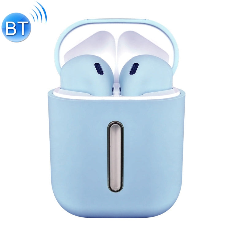Q8L TWS Bluetooth 5.0 Touch Wireless Bluetooth Earphone with Magnetic Adsorption Charging Case, Supports Power Display & HD Calling(Blue)