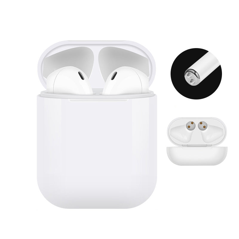 i10 touch-tws Bluetooth Headset 5.0 Stereo Tune Call Support Touch Bluetooth Headset(White)