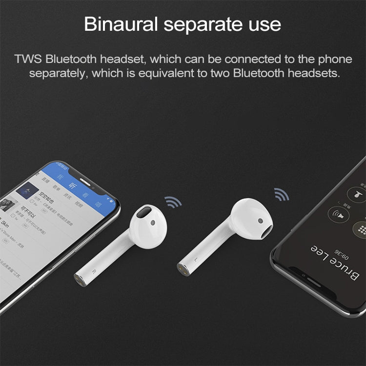 i100 Bluetooth Headset 5.0 Tap Touch Bluetooth Headset