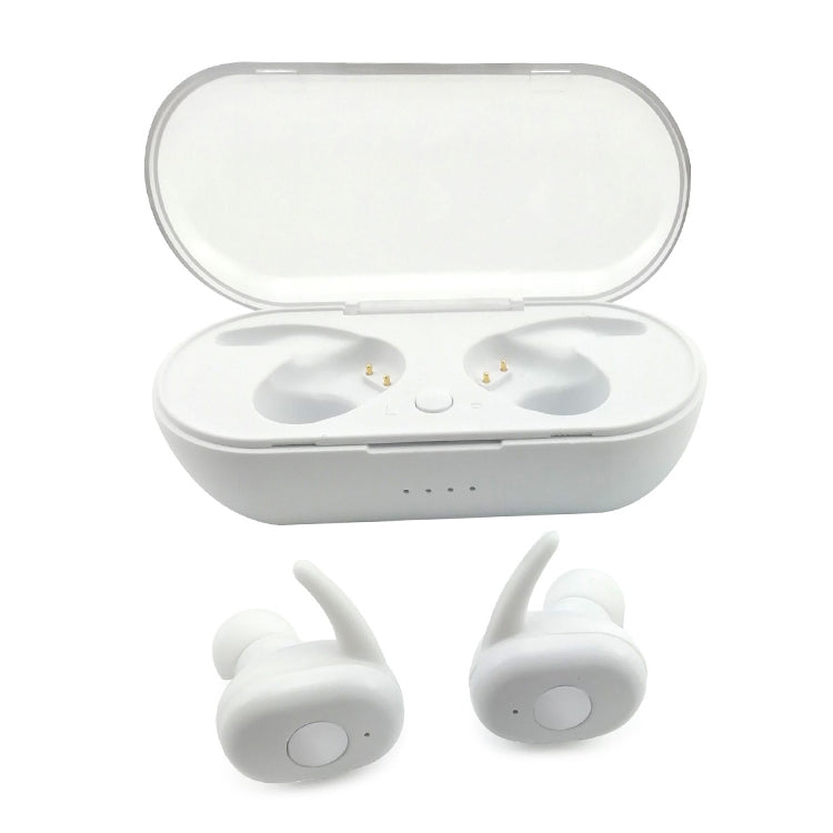 L11 TWS Bluetooth 5.0 Wireless Headset with Charging Box(White)