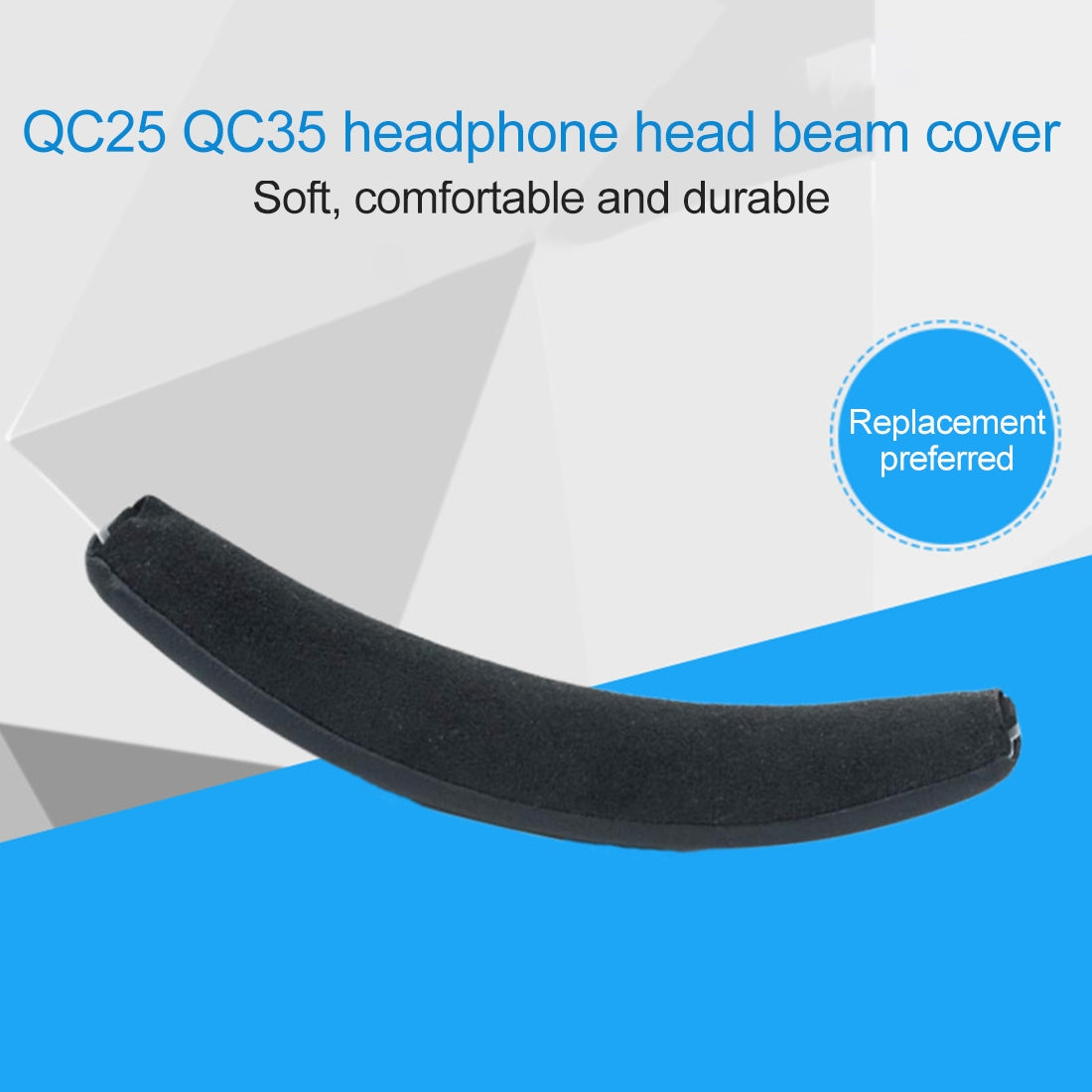 Head Beam Sponge Protective Cover for Bose QC25 Headphone