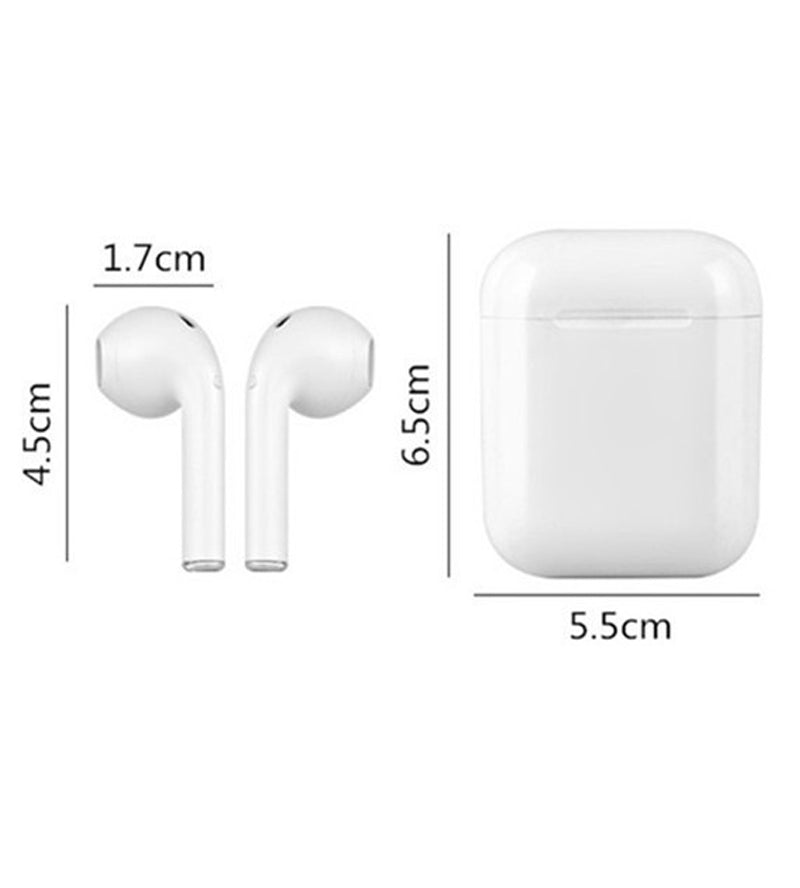 i8 TWS Hi-Fi Stereo Wireless Bluetooth 4.2 Earphones with Charging Case
