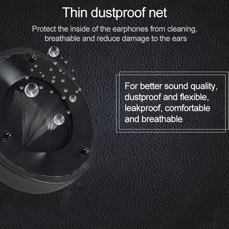 2 PCS For Razer Thresher Ultimate Earphone Cushion Gel Sponge Cover Earmuffs Replacement Earpads