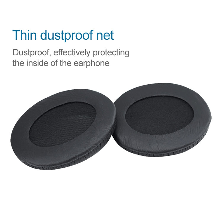 2 PCS For Sennheiser HD202 / HD212 / HD437 / HD447 / HD457 / HD497 Headphone Cushion Sponge Cover Earmuffs Replacement Earpads