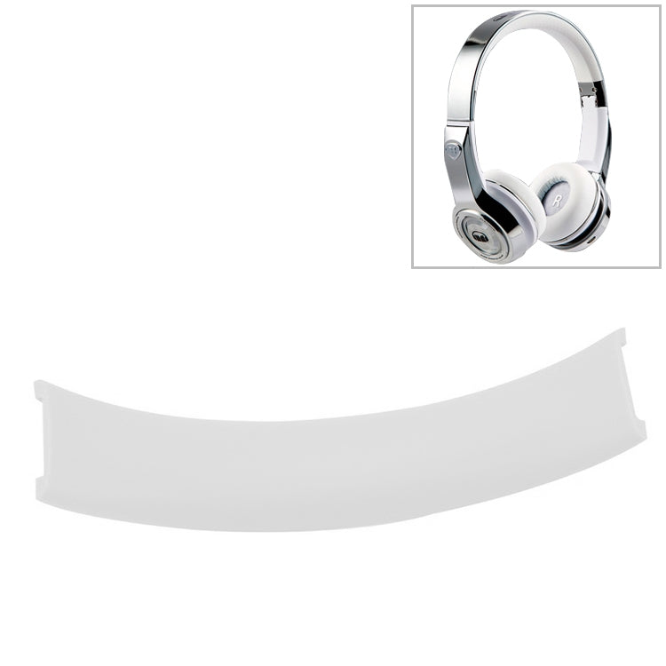 For Solo 1.0 Replacement Headband Head Beam Headgear Leather Pad Cushion Repair Part(White)
