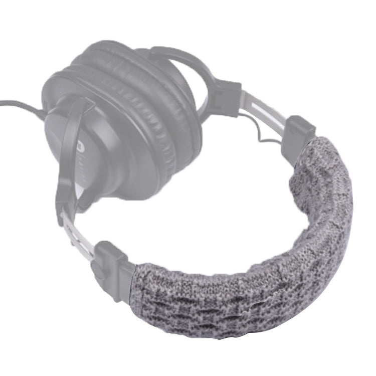 Knitted Headphone Dustproof Protective Case for Beats Studio2 / ATH-MSR7 / Sennheiser(Grey)