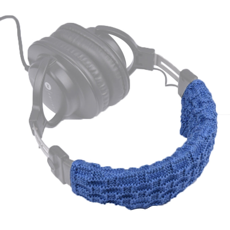 Knitted Headphone Dustproof Protective Case for Beats Studio2 / ATH-MSR7 / Sennheiser(Blue)