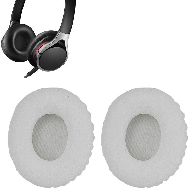 1 Pair Sponge Headphone Protective Case With Card Buckle for Sony MDR-10RC (White)