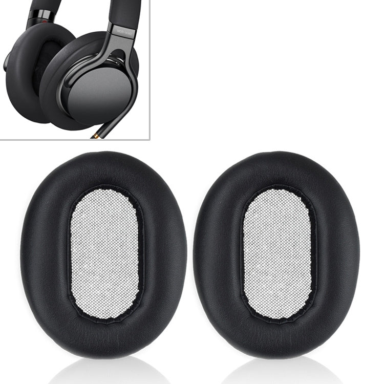 1 Pair Sponge Headphone Protective Case With Card Buckle for Sony MDR-1AM2
