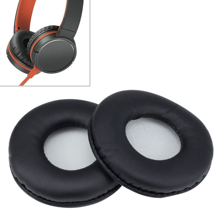 1 Pair Sponge Headphone Protective Case for Sony MDR-ZX600 ZX660 (Black)