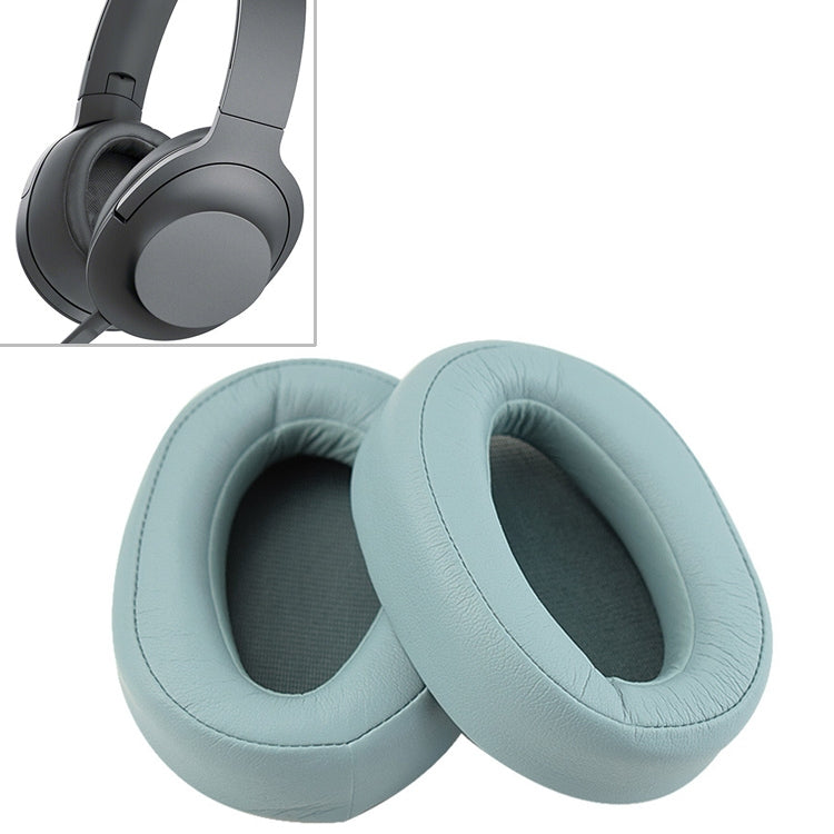1 Pair Sponge Headphone Protective Case for Sony  MDR 100AAP (Green)