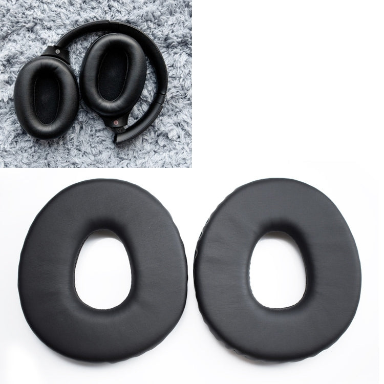 1 Pair Sponge Headphone Protective Case for Sony MDR-CD1000 / MDR-CD3000