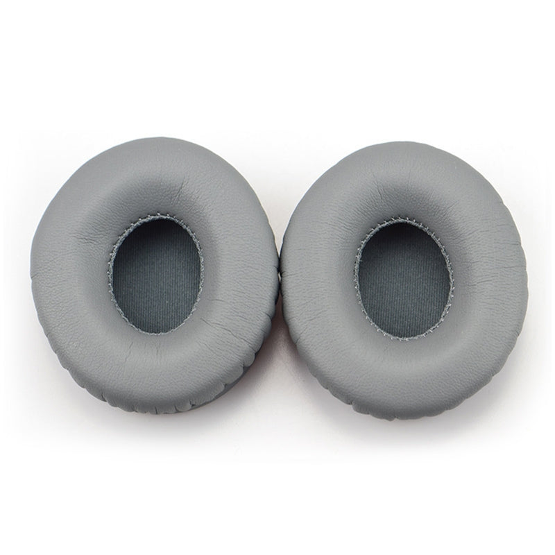 2 PCS For Beats Solo HD / Solo 1.0 Headphone Protective Leather Cover Sponge Earmuffs (Grey)