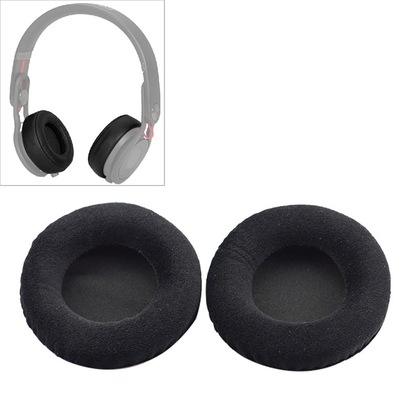 2 PCS For Steelseries Siberia V2 / V1 Frost Blue Black Flannel Version Headphone Protective Cover Earmuffs