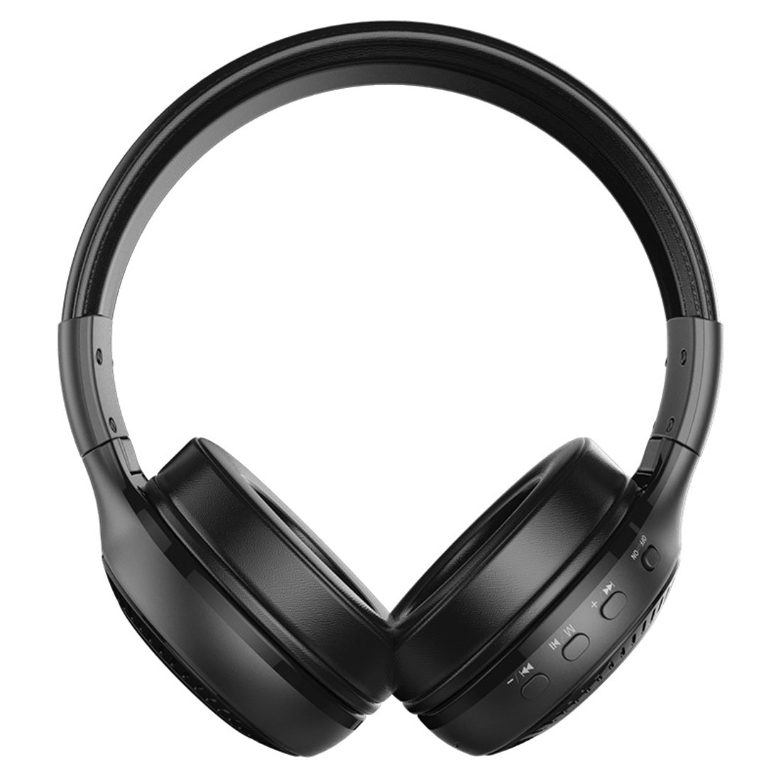Zealot B19 Folding Headband Bluetooth Stereo Music Headset with Display, For iPhone, Galaxy, Huawei, Xiaomi, LG, HTC and Other Smart Phones(Black)