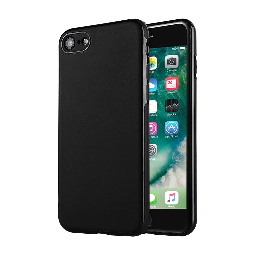 SULADA Car Series Magnetic Suction TPU Case for iPhone 8 & 7 (Black)