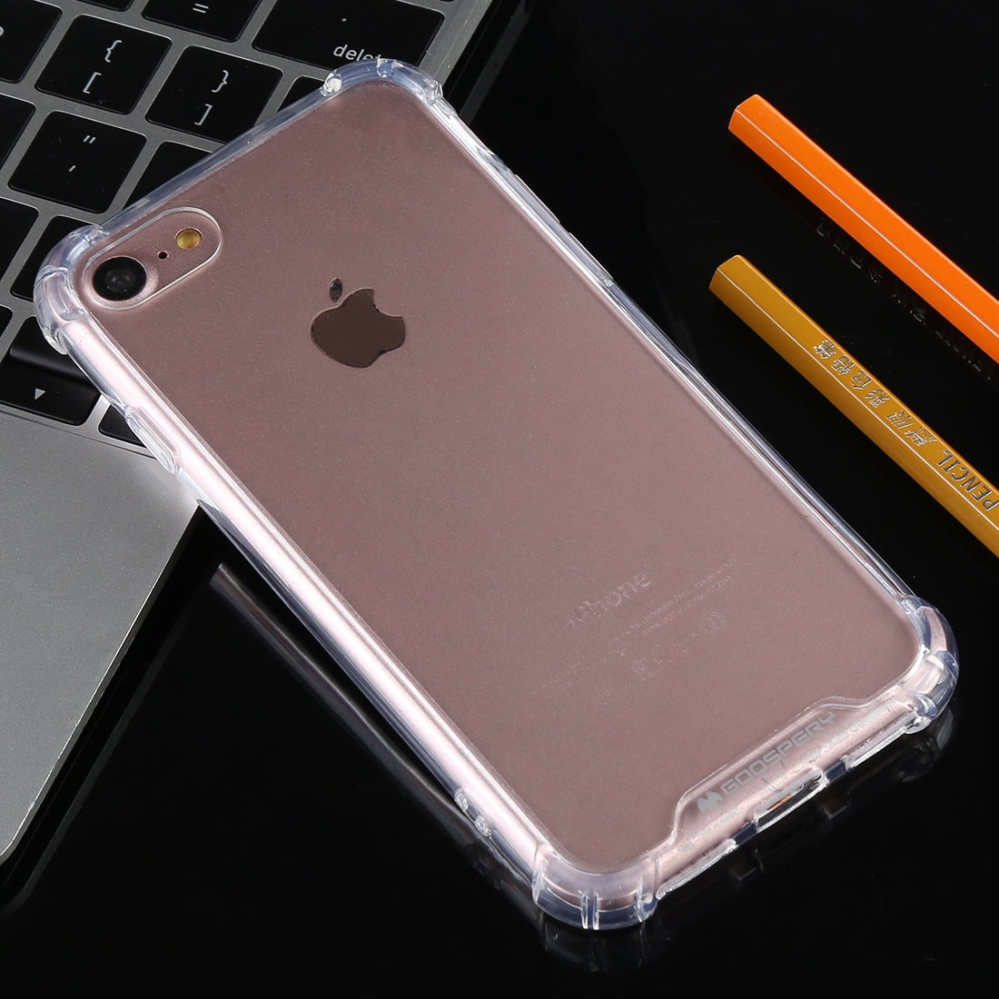 GOOSPERY Full Coverage Soft Case for iPhone 8 & 7