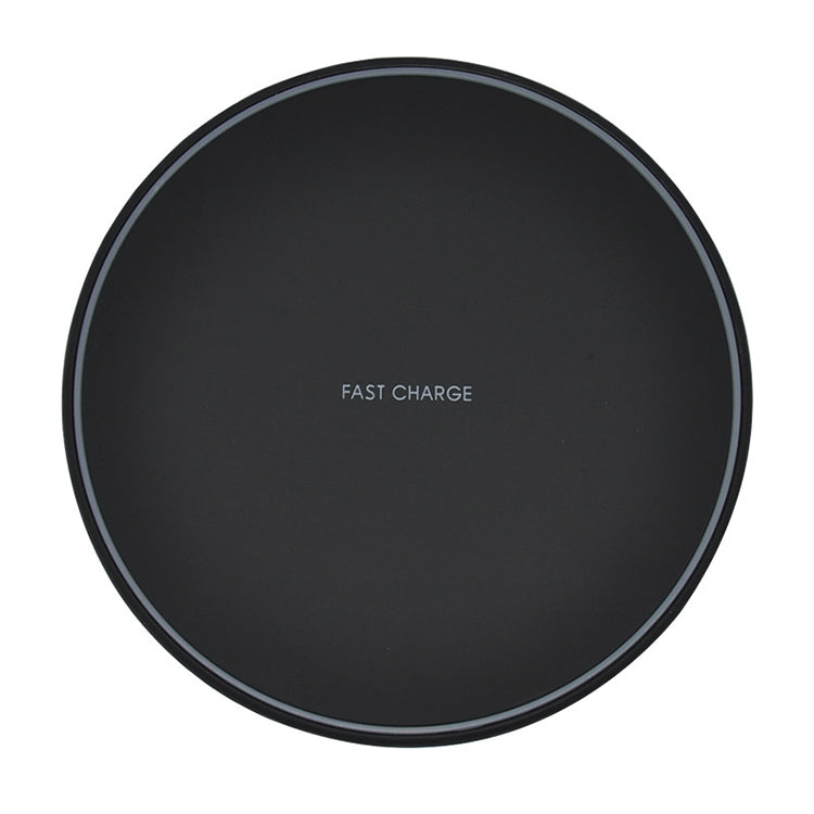KD-1 Ultra-thin 10W Fast Charging Wireless Charger (Black)