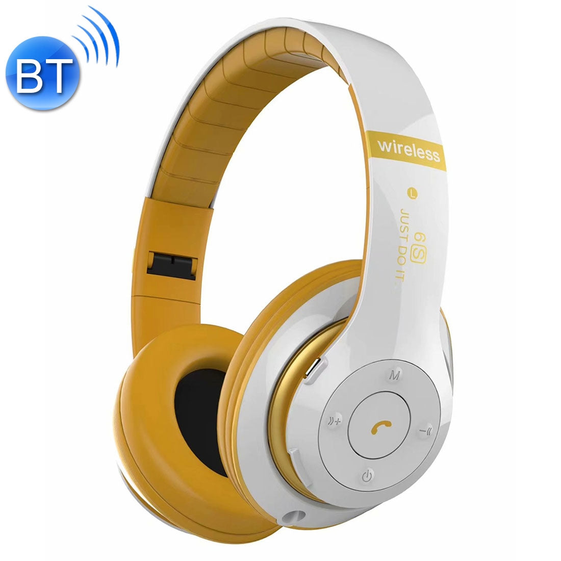 V30 Wireless Bluetooth 4.2 Headphone with Mic & FM & TF Card & Handfree Function, For iPhone, iPad, iPod, Samsung, HTC, Sony, Huawei, Xiaomi and other Audio Devices(White)