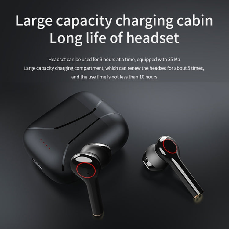 L31 i7-TWS Smart Touch V5.0 Binaural Wireless Bluetooth Headset with Charging Case(Black)