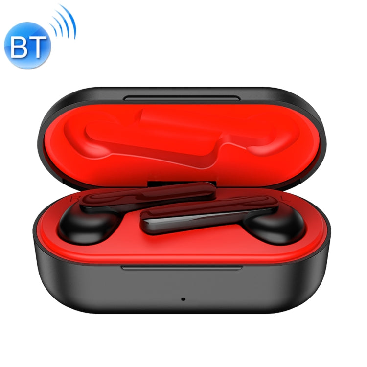 ROCK EB71 TWS Bluetooth 5.0 IPX4 Waterproof Wireless Stereo Bluetooth Earphone(Black)