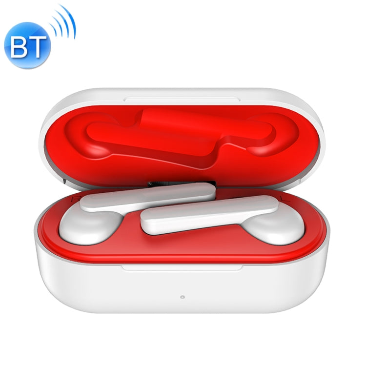 ROCK EB71 TWS Bluetooth 5.0 IPX4 Waterproof Wireless Stereo Bluetooth Earphone(White)