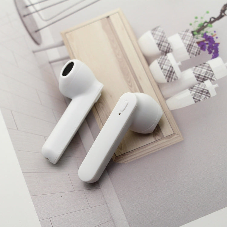 i7s TWS Stereo Dual Noise Reduction Wireless Bluetooth 5.0+EDR Earphones with Charging Case(White)