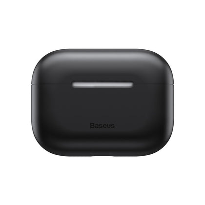 Baseus Super Thin Silica Gel Case for AirPods Pro(Black)