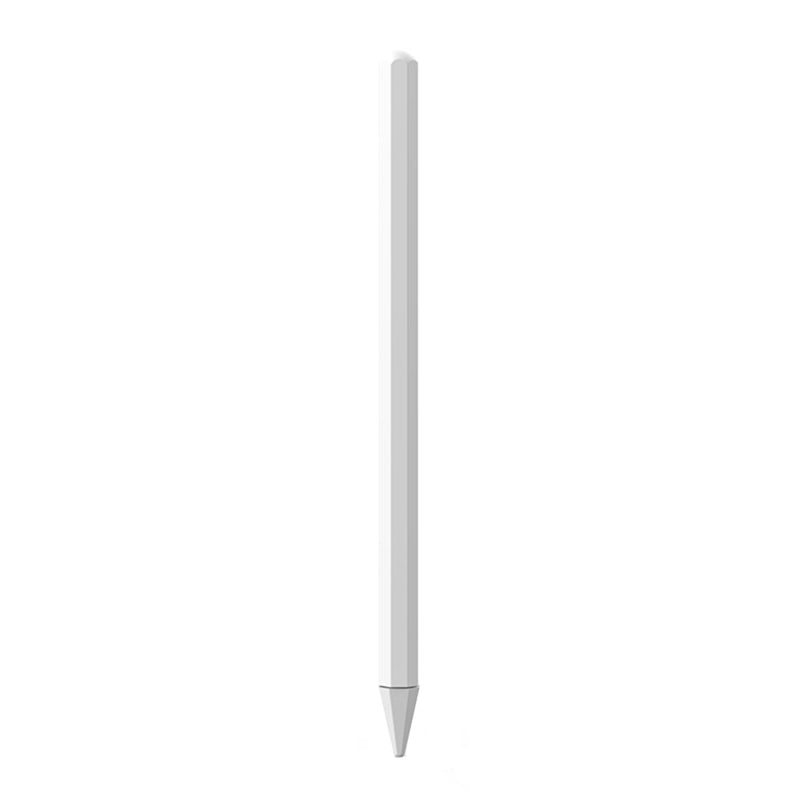 Stylus Pen Silica Gel Protective Case for Apple Pencil 2 (White)