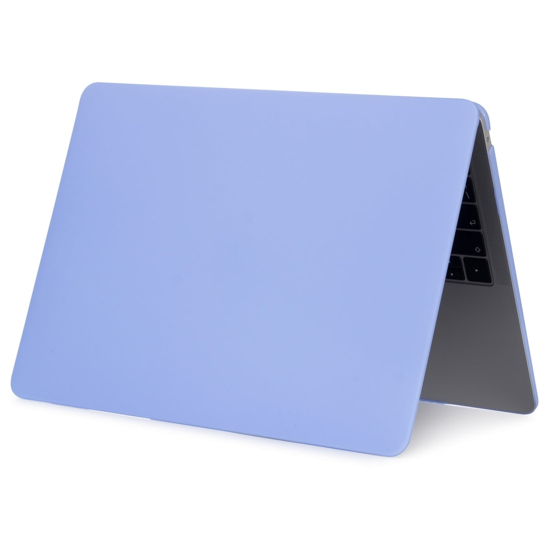 Laptop Matte Style Protective Case for MacBook Air 13.3 inch A1932 (2018)(Blue)