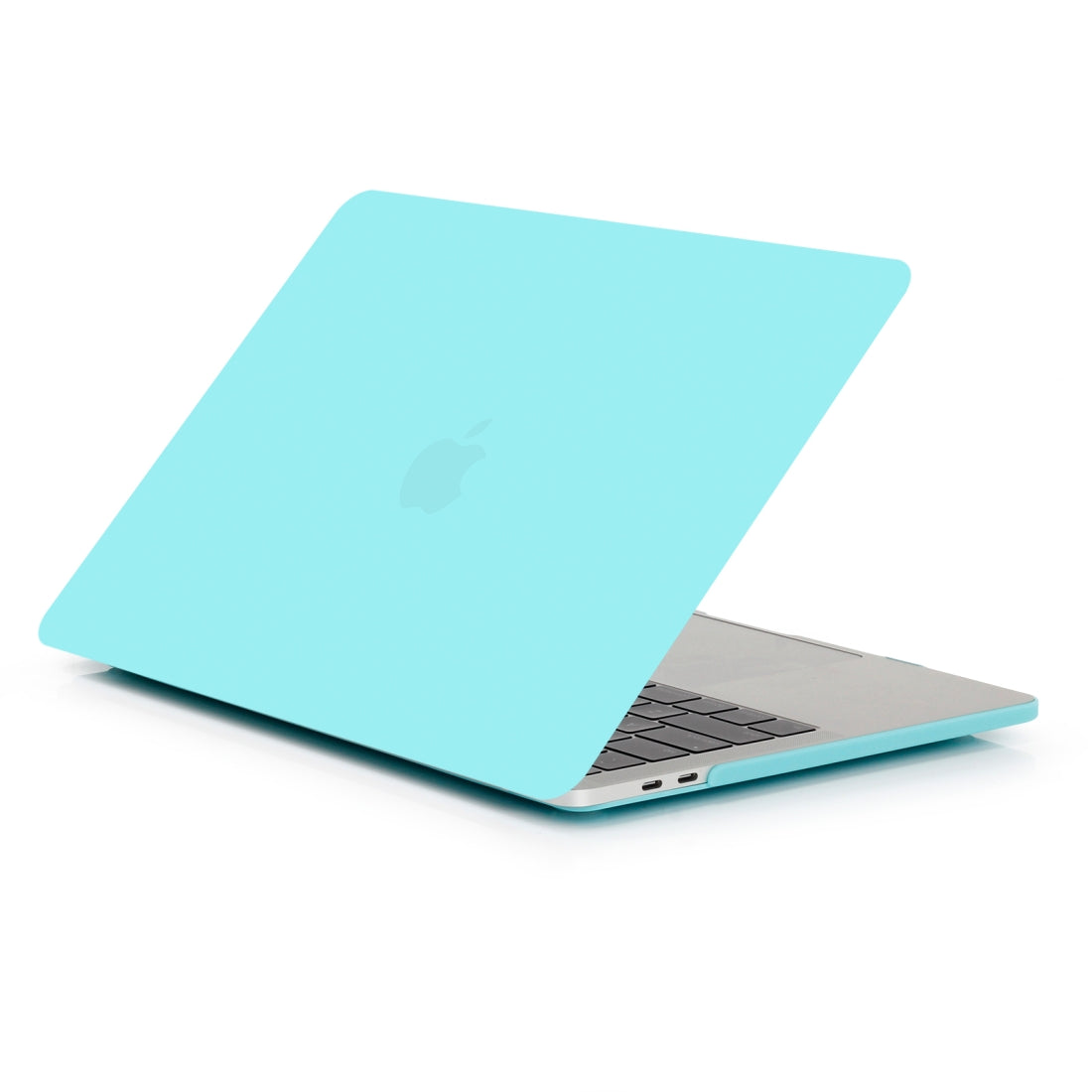 Laptop Frosted Style PC Protective Case for MacBook Pro 15.4 inch A1990 (2018)(Sky Blue)