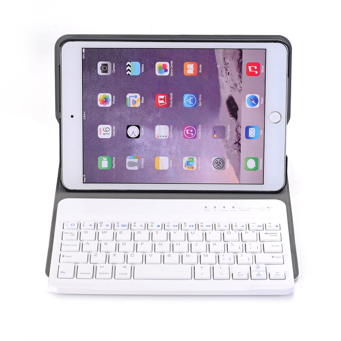 A03 for iPad mini 3 / 2 / 1 Universal Ultra-thin ABS Horizontal Flip Case + Bluetooth Keyboard(Rose Gold)