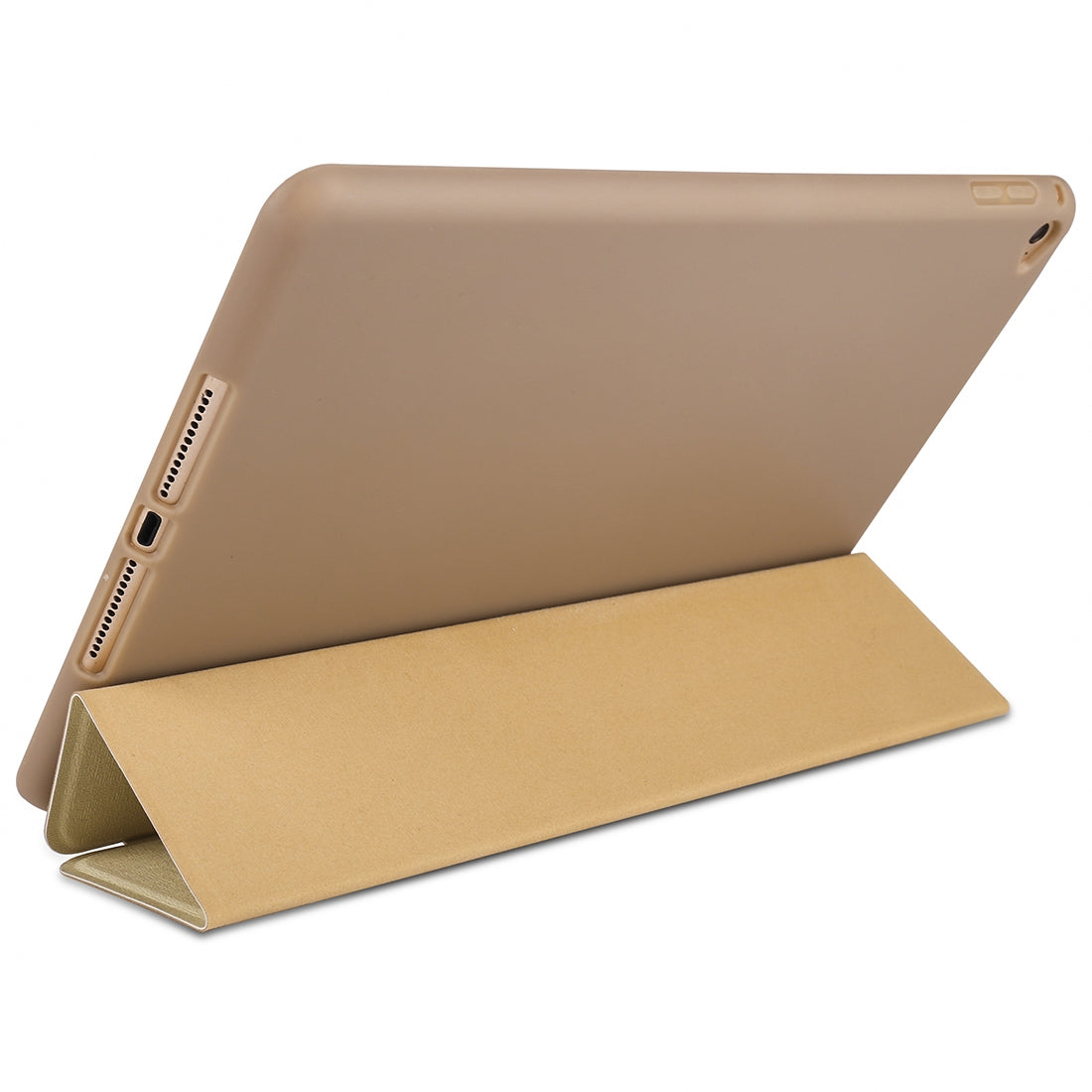 Maple Pattern Horizontal Flip PU Leather Case for iPad mini 4, with Three-folding Holder & Honeycomb TPU Cover