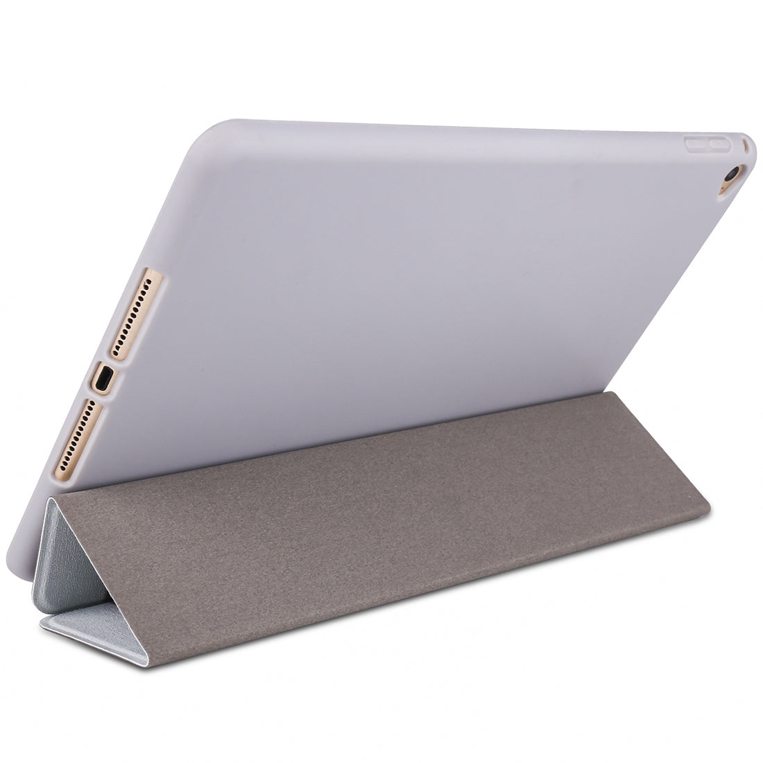 Panda Pattern Horizontal Flip PU Leather Case for iPad mini 4, with Three-folding Holder & Honeycomb TPU Cover