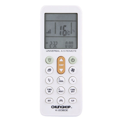 CHUNGHOP K-2080E Universal LCD Air-Conditioner Remote Controller