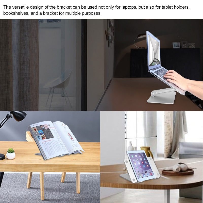 Liftable Portable Laptop Height Extender Holder Stand Folding Portable Computer Heat Dissipation Bracket, Standard Version, Size: 28x19.7x0.3cm