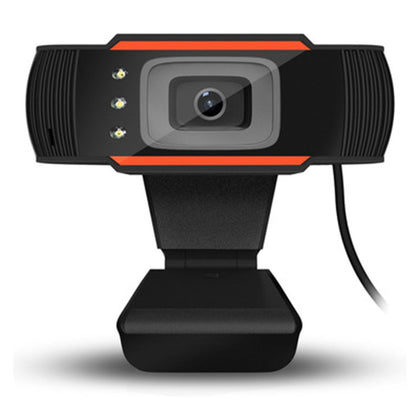 A870C3 12.0MP HD Webcam USB Plug Computer Web Camera with Sound Absorption Microphone & 3 LEDs, Cable Length: 1.4m