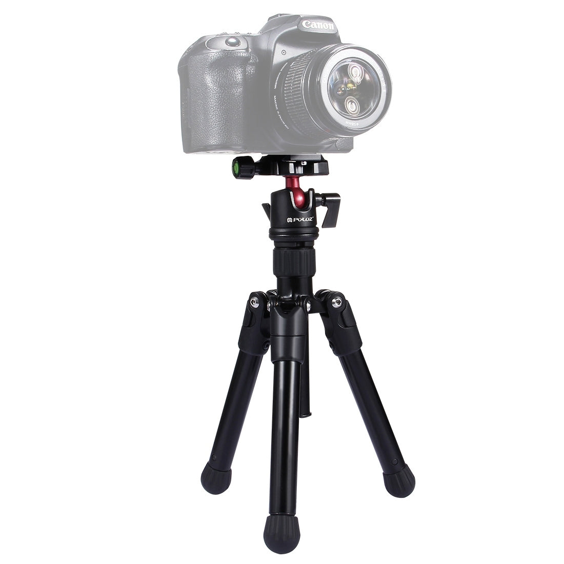 Pocket Mini Microspur Photos Magnesium Alloy Tripod Mount with 360 Degree Ball Head  for DSLR &  Digital Camera, Adjustable Heig