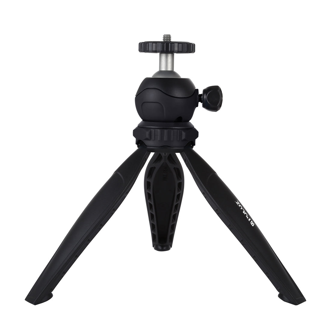 20cm Pocket Plastic Tripod Mount with 360 Degree Ball Head for Smartphones, GoPro, DSLR Cameras(Black)