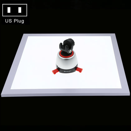 1200LM LED Photography Shadowless Light Lamp Panel Pad with Switch, Acrylic Material, No Polar Dimming Light, 34.7cm x 34.7cm Eff