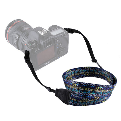 Retro Ethnic Style Multi-color Series Shoulder Neck Strap Camera Strap for SLR / DSLR Cameras