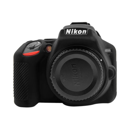 Soft Silicone Protective Case for Nikon D3500(Black)