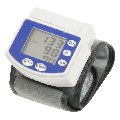 Full Automatic Wrist Blood Pressure Monitor(White)