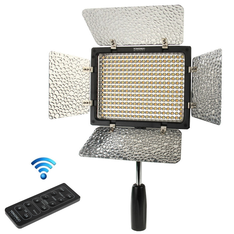 YN300 II LED Video Camera Light Color Temperature Adjustable Dimming